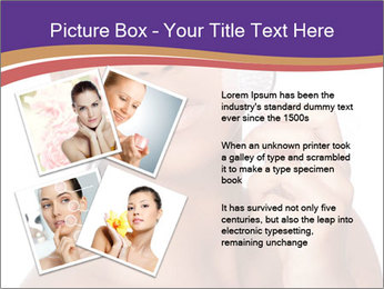 Woman Peeling Skin PowerPoint Template - Slide 23