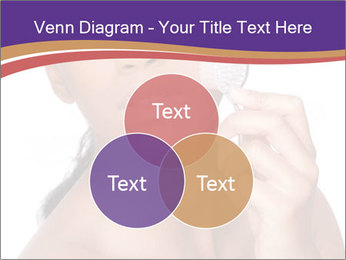 Woman Peeling Skin PowerPoint Template - Slide 33