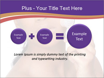 Woman Peeling Skin PowerPoint Template - Slide 75