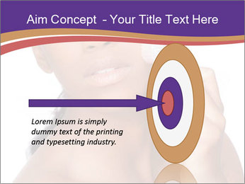 Woman Peeling Skin PowerPoint Template - Slide 83
