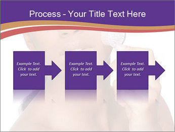 Woman Peeling Skin PowerPoint Template - Slide 88