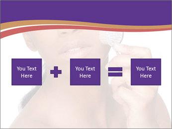 Woman Peeling Skin PowerPoint Templates - Slide 95