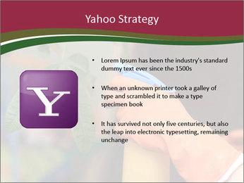 Man Spraying Plants PowerPoint Templates - Slide 11
