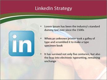 Man Spraying Plants PowerPoint Templates - Slide 12