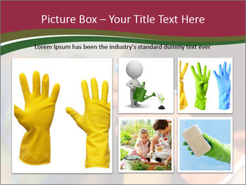 Man Spraying Plants PowerPoint Templates - Slide 19