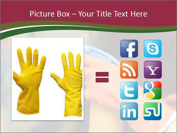 Man Spraying Plants PowerPoint Template - Slide 21