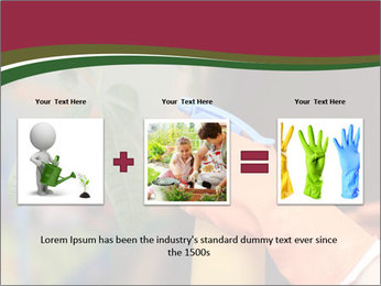Man Spraying Plants PowerPoint Template - Slide 22
