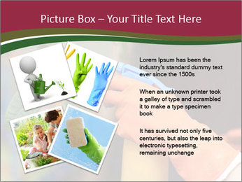 Man Spraying Plants PowerPoint Template - Slide 23