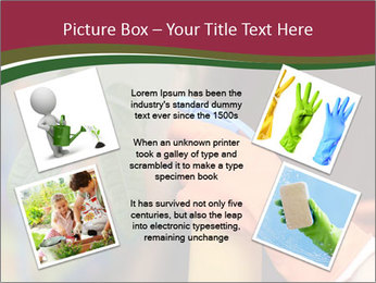 Man Spraying Plants PowerPoint Template - Slide 24