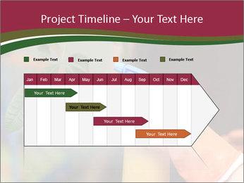 Man Spraying Plants PowerPoint Templates - Slide 25