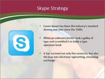 Man Spraying Plants PowerPoint Templates - Slide 8