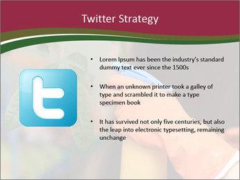 Man Spraying Plants PowerPoint Templates - Slide 9