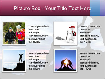 Helping hand PowerPoint Template - Slide 14