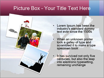 Helping hand PowerPoint Template - Slide 17