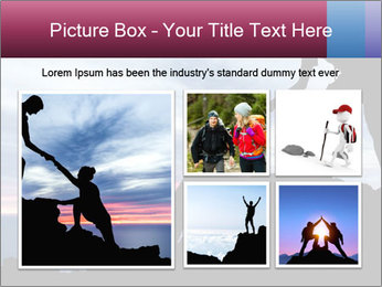 Helping hand PowerPoint Template - Slide 19