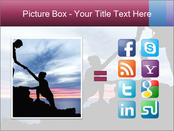 Helping hand PowerPoint Templates - Slide 21