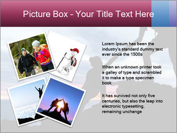 Helping hand PowerPoint Template - Slide 23