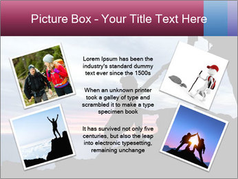 Helping hand PowerPoint Template - Slide 24