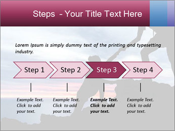 Helping hand PowerPoint Template - Slide 4