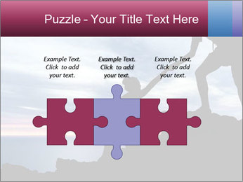 Helping hand PowerPoint Templates - Slide 42