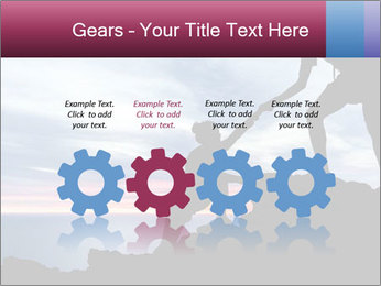 Helping hand PowerPoint Templates - Slide 48