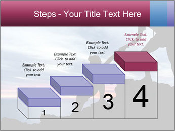 Helping hand PowerPoint Template - Slide 64
