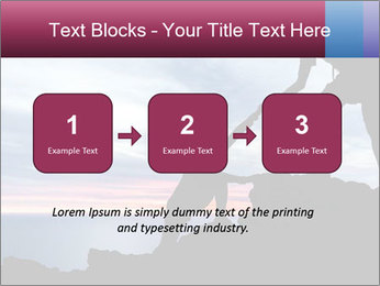 Helping hand PowerPoint Template - Slide 71