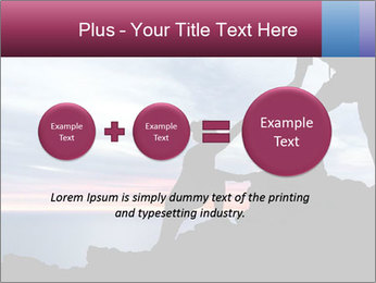 Helping hand PowerPoint Template - Slide 75