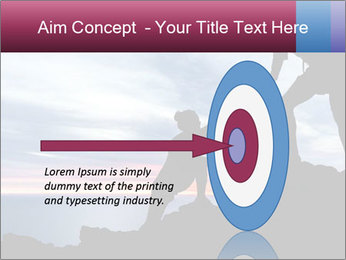 Helping hand PowerPoint Template - Slide 83