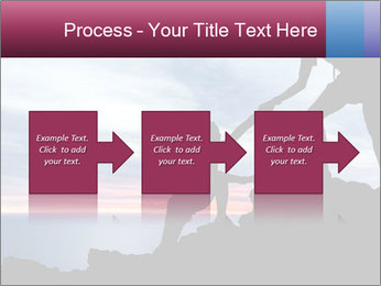 Helping hand PowerPoint Template - Slide 88