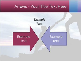 Helping hand PowerPoint Templates - Slide 90