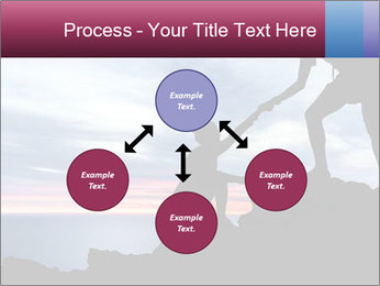 Helping hand PowerPoint Template - Slide 91
