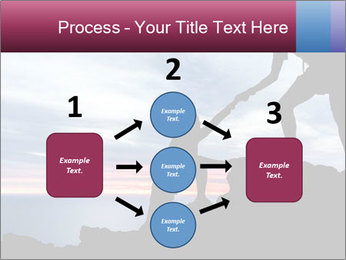 Helping hand PowerPoint Template - Slide 92