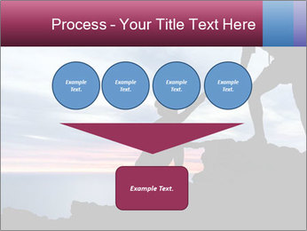 Helping hand PowerPoint Template - Slide 93