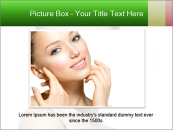 Woman With Healthy Skin PowerPoint Templates - Slide 15