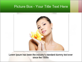 Woman With Healthy Skin PowerPoint Templates - Slide 16