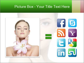 Woman With Healthy Skin PowerPoint Templates - Slide 21