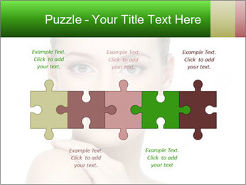 Woman With Healthy Skin PowerPoint Templates - Slide 41