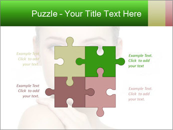 Woman With Healthy Skin PowerPoint Templates - Slide 43