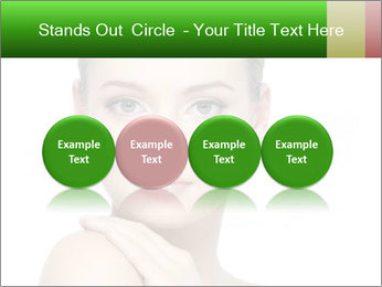Woman With Healthy Skin PowerPoint Templates - Slide 76