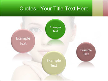 Woman With Healthy Skin PowerPoint Templates - Slide 77