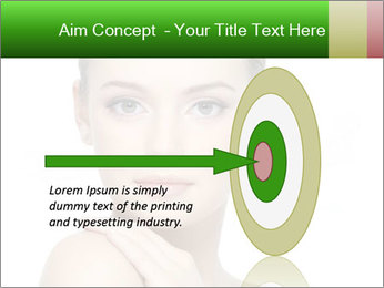 Woman With Healthy Skin PowerPoint Templates - Slide 83