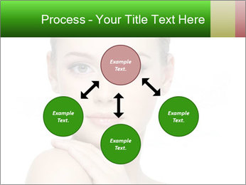 Woman With Healthy Skin PowerPoint Templates - Slide 91