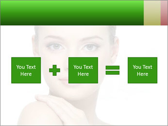 Woman With Healthy Skin PowerPoint Templates - Slide 95