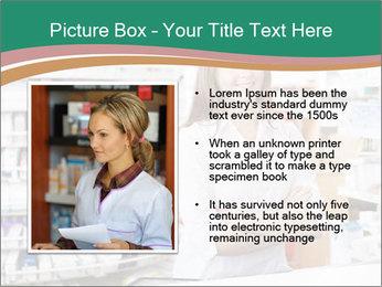 Woman Pharmacist PowerPoint Templates - Slide 13