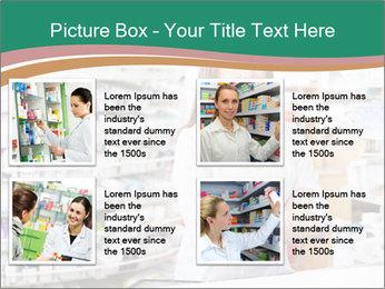 Woman Pharmacist PowerPoint Templates - Slide 14
