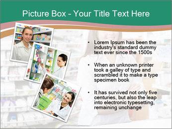 Woman Pharmacist PowerPoint Templates - Slide 17