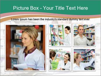 Woman Pharmacist PowerPoint Templates - Slide 19