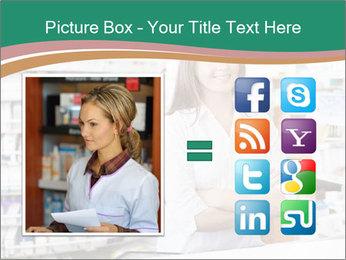 Woman Pharmacist PowerPoint Templates - Slide 21