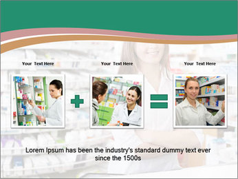 Woman Pharmacist PowerPoint Templates - Slide 22